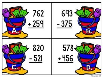 Beach Buddies {6 Beach Themed Math Centers}