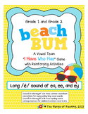 Beach Bum (long /e/ sound of ea, ee, and ey)
