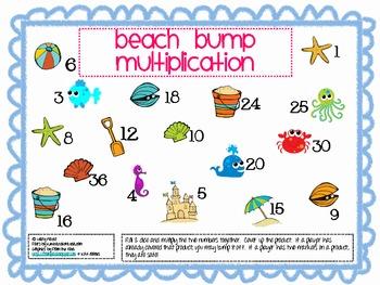 Beach Bump Multiplication & Division