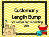 Beach Bump-Two Games for Converting Customary Units of Length