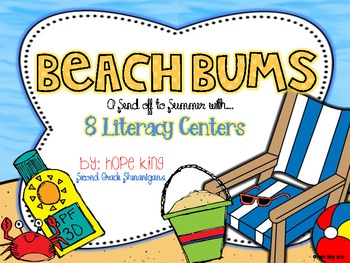 Beach Bums: A Send-Off to Summer with 8 Literacy Centers