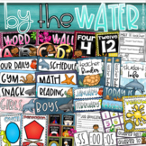 Beach By the Water Theme Classroom Decoration Bundle (Tropical, Ocean, Nautical)