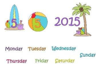 Beach Calendar Missing 5