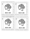 Beach Cards- Class Management punch cards