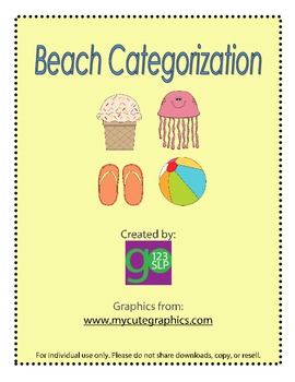 Beach Categorization