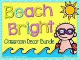 Beach Classroom Decor Bundle