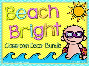 Beach Classroom Decor Bundle