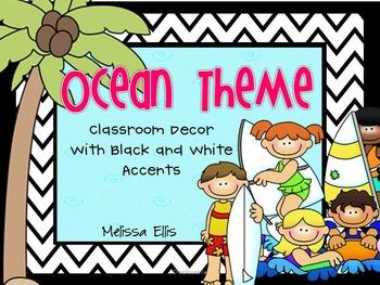Beach - Ocean Classroom Decor