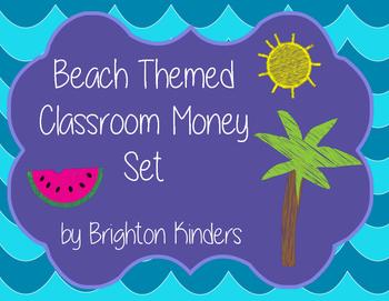Beach Classroom Money Set