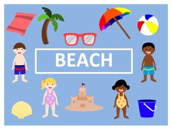 Beach/ Summer Clip Art