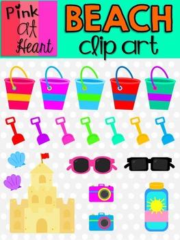 Beach Clip Art Set