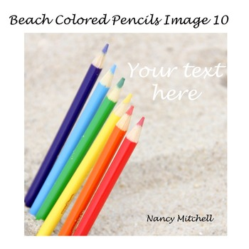 Beach Colored Pencils Image 10