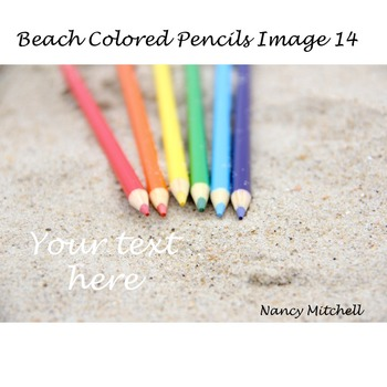 Beach Colored Pencils Image 14