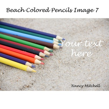 Beach Colored Pencils Image 7