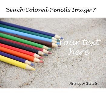 Beach Colored Pencils Image 7