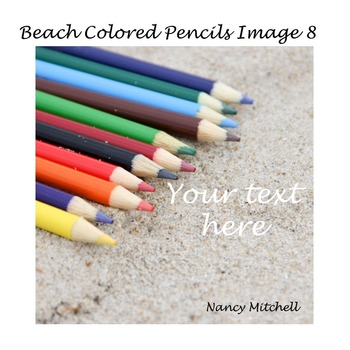 Beach Colored Pencils Image 8