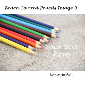 Beach Colored Pencils Image 9