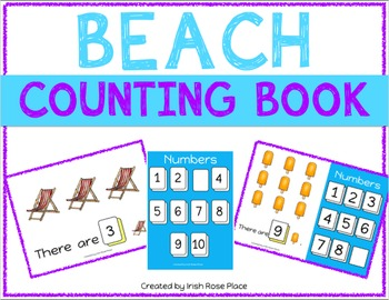 Beach Counting Books (Adapted Books)