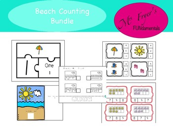 Beach Counting Bundle