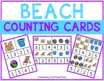 Beach Counting Cards