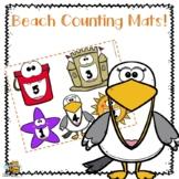 Beach Counting Mats for Preschool\Pre-K
