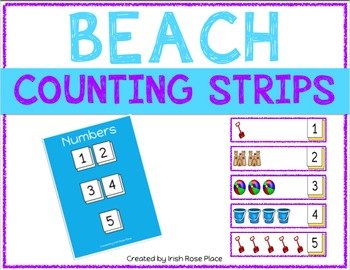 Beach Counting Strips