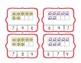 Beach Counting Ten Frame Clip Cards 1-20