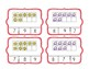 Beach Counting Ten Frame Clip Cards 1-20