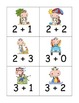 Beach Cows Addition and Subtraction to Five Game and Board