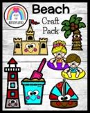 Beach Craft Pack: Castle, Palm Tree, Bucket, Lighthouse, S