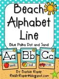 Beach Alphabet Line