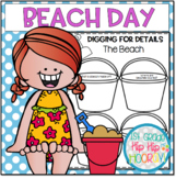 Beach Day...Perfect for End of the Year Fun or Class Behavior Award