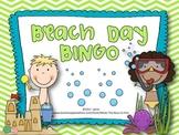 Beach Day BINGO {Summer or End of the Year Fun}