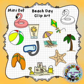 Beach Day Clip Art