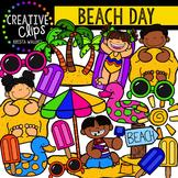 Beach Day {Creative Clips Digital Clipart}