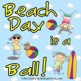 Beach Day Fun! End of the Year Theme Days!