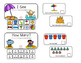 """Beach Day Interactive Adaptive books - set of 2 (""""I See and """"How Many?)"""