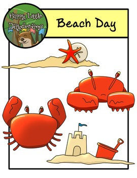 Beach Day Pack- Cip Art
