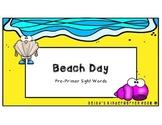 Beach Day! - Sight Words