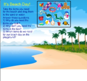 Beach Day in Kindergarten