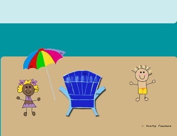 Beach Days Center Activities Kindergarten/grade 1