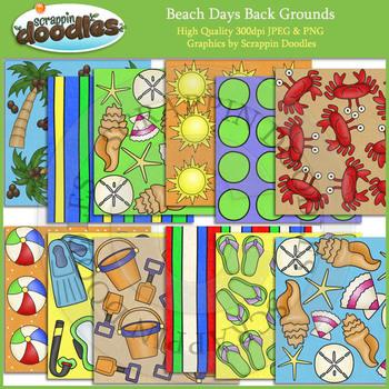 Beach Days Backgrounds