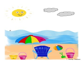 Beach Days ELA activity- FREEBIE