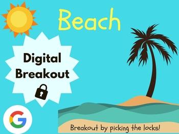 Beach - Digital Breakout! (Escape Room, Scavenger Hunt)