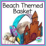 Beach Themed Basket