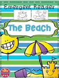 Beach Emergent Reader Colors Preschool Kindergarten