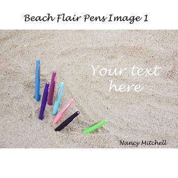 Beach Flair Pen Image 1