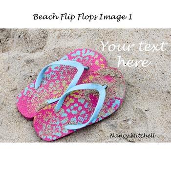 Beach Flip Flops Image 1