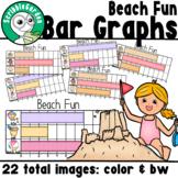 Beach Fun: 3 Category Bar Graphs
