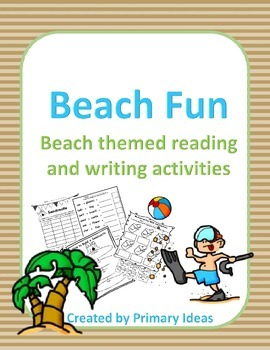 Beach Fun: Beach themed reading and writing activities